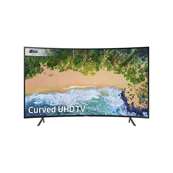 Samsung Curved 4K Ultra HD Certified HDR Smart TV – Charcoal Black (2018 Model) 51IV3TwqNqL