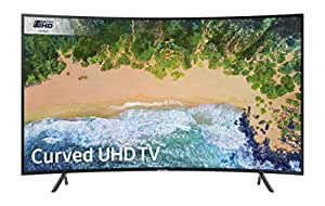 Samsung UE55NU7300 55-Inch Curved 4K Ultra HD Certified HDR Smart TV - Charcoal Black (2018 Model) [Energy Class A]