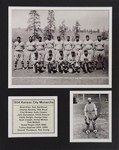 1934Kansas City Herrscher 27,9x 35,6cm ungerahmt mattierte Foto Collage von Legenden Sterben Nie, Inc.