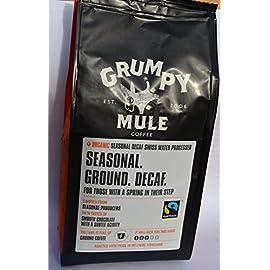 Organic Decaffeinated Coffee – 227g Grumpy Mule