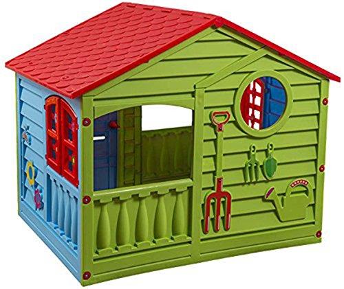 Childrens Garden Happy House Outdoor/Indoor Garden Summer Fun Kid's Playhouse