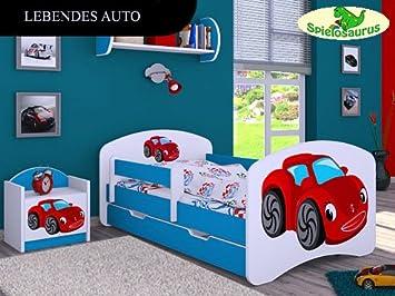 Kinderbett auto  Kinderbett Lebendes Auto - inkl. Schubladen und Matratze viele ...