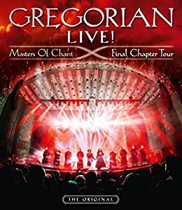 Gregorian - LIVE! Masters Of Chant - Final Chapter Tour - Limited Fan Edition - Mediabook [Blu-ray+2CD]