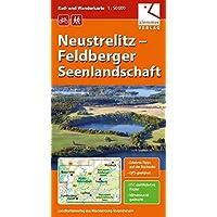 Rad- und Wanderkarte Neustrelitz - Feldberger Seenlandschaft: Maßstab 1:50.000, GPS-geeignet, Erlebnis-Tipps auf der…