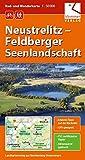 Rad- und Wanderkarte Neustrelitz - Feldberger Seenlandschaft: Maßstab 1:50.000, GPS-geeignet, Erlebnis-Tipps auf der Rückseite -