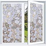 KINLO 90x200cm Pellicola per Vetro Finestre Sticker per Decorativi la Finestra, Vetrofanie Antistatico,Protezione della Privacy in Bagni/ Uffici/Sale Conferenze