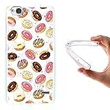 WoowCase ZTE Blade S6 Hülle, Handyhülle Silikon für [ ZTE Blade S6 ] Donuts Handytasche Handy Cover Case Schutzhülle Flexible TPU - Transparent