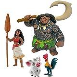 Coffret 4 figurines Vaiana