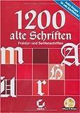 1200 alte Schriften Bild