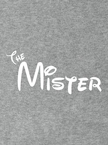 clothinx Herren T-Shirt Mister Pärchen Motiv Sports Grey