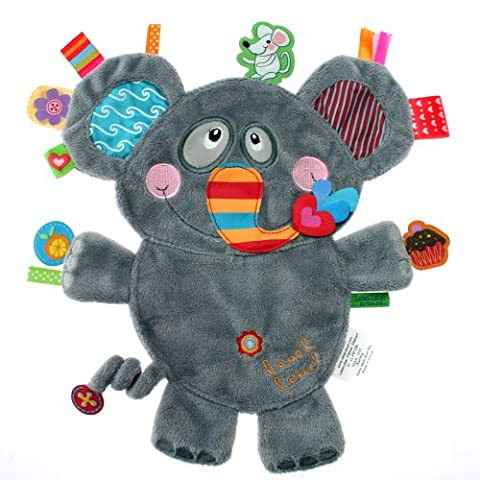 Bebe Elephant - Label-LL-FR1206-Label friends doudou Eléphant
