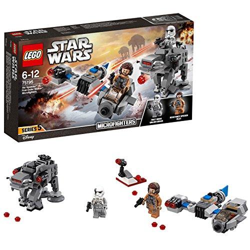 LEGO Star Wars Microfighters: Speeder Esquiador vs. Caminante de la Primera Orden  única (75195)