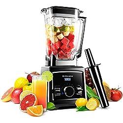 Blender Multifonctions Professionnel - Robot Culinaire Mélangeur pour Smoothies, Soupes, Glace pillé ... 2000W