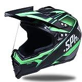 Shorkproof Off Road Casco integrale moto Caschi per adulti moto con visiera antivento anti-caduta di sicurezza tappi di motocross 23 colori