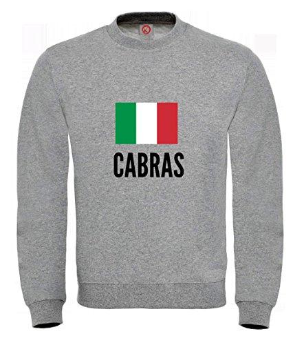 Felpa Cabras city Gray