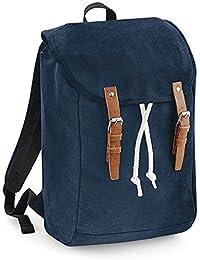 Quadra - sac à dos en toile look rustique vintage RUCKSACK QD615 - adulte mixte homme femme