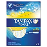 Tampax Pearl Regular Tampons Applicator, 20 Tampons