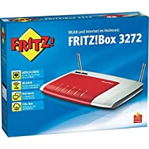 AVM FRITZ BOX 3272 Modem Router Wireless N 450,ADSL2+, 2 LAN Gigabit, 2 Fast Ethernet, Media Server, 2 USB 2.0,Software in Italiano, 5 anni di garanzia!!!