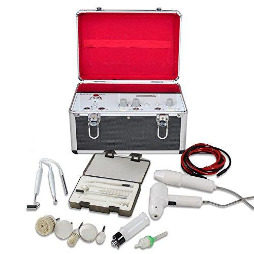 Denshine 5in1 High Frequency Vacuum Spray Galvanische Gesichtsbürste Gesichtsreiniger Schönheits Maschine