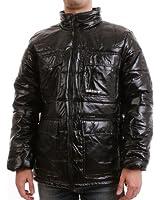 Adidas Jacke Men - SHINY PADDED - Black