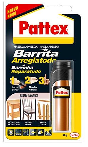 pattex-1863214-tube-de-pate-a-reparer-speciale-bois-48-g