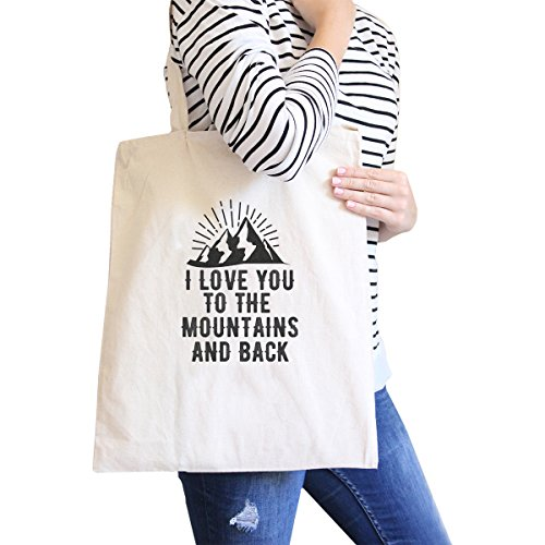 365 Printing inc , Borsa da spiaggia  Donna Flower Natural Mountain And Back Natural