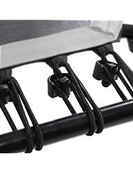 Bungee-Seile Set inkl. Befestigungsclip für SportPlus Fitness Trampolin, 36 Stück
