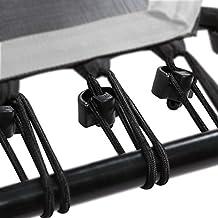 SportPlus Bungee-Seile Set inkl. Befestigungsclip Fitness Trampolin, 36 Stück