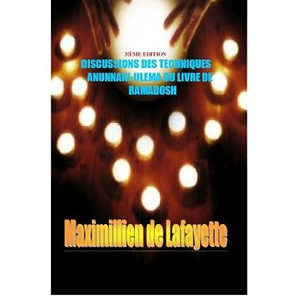 3IÈME EDITION. DISCUSSIONS DES TECHNIQUES ANUNNAKI-ULEMA DU LIVRE DE RAMADOSH