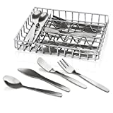 Cooking Master 17 Piece Pretend Play Stainless Steel Cutlery Set