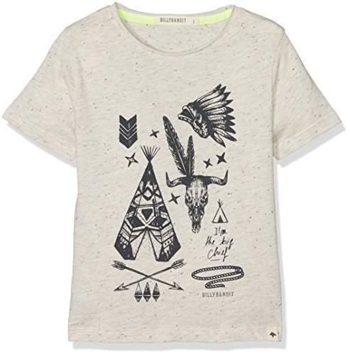 billybandit-boys-v25202-t-shirt-blanc-beige-chin-6-years