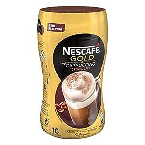 Nescafé Cappuccino Texture Extra Crémeuse, Café Instantané, Boîte 250 g, 012202495