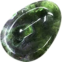 grüner Fluorit Daumenstein, 1 Stück, 4,5 cm mit Mulde für den Daumen/Taschenstein grün preisvergleich bei billige-tabletten.eu