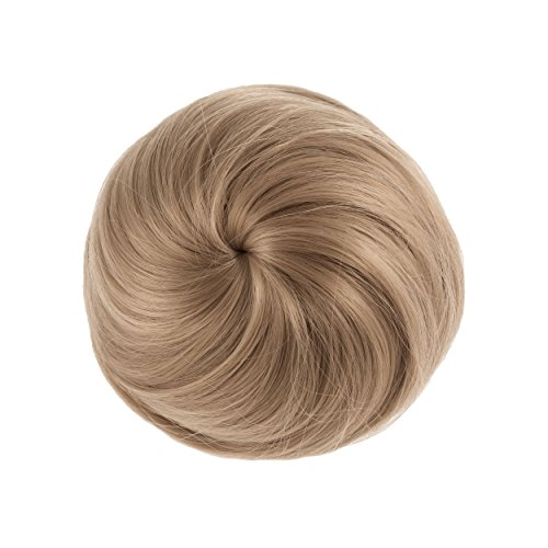 Clip-In-Mann Bun (Blond) ()