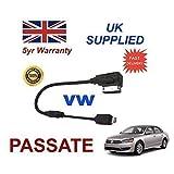 VW PASSAT Serie MMI 3 g, mit integrierter Audio-Kabel für Apple iPhone 5/5s/5c, 6, 6, Plus von cablesnthings