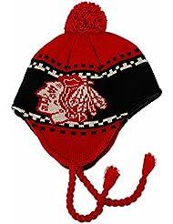 Reebok Faceoff Tassle Knit Pom Chicago Blackhawks