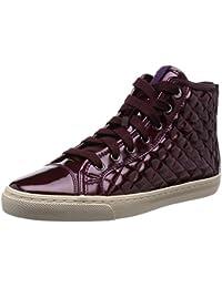 Geox D New Club - Zapatillas de deporte para mujer