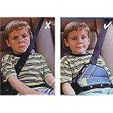 yuver (TM) 1pieza Color al azar cuidado del bebé asiento de coche Cinturón de Seguridad Triángulo proteger los niños coche cinturón de seguridad ajustable