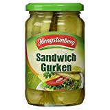 Hengstenberg Sandwich-Gurken kräuterwürzig 185 g