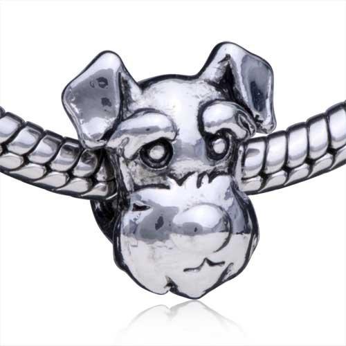 Carcasa de animales para perro Pugster cuenta para pulsera compatible con joyas Pandora Pulsera colgantes