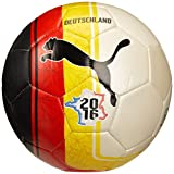 PUMA Fußball Country Fan balls Non-Licensed, White/Red/Yellow/Deutschland, 5, 082607 01