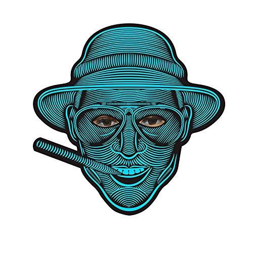 Macxy - Halloween Full Face Maske Tanz Voice Control-Partei-Schablonen-Maskerade 3D Tiermasken [A09] (Halloween-kürbis Uk Schablonen)