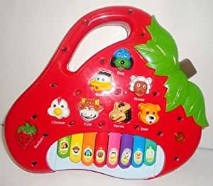 Strawberry Shaped Animals Sound Piano For Kids