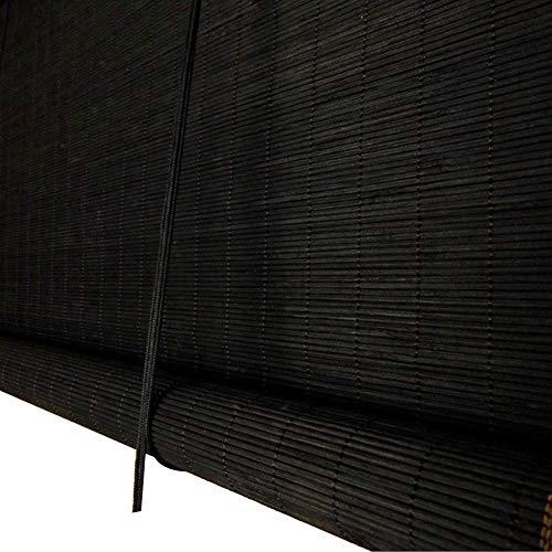 LIAN Roller Window Shades Bambusvorhang im chinesischen Stil Teehaus Balkon Außenrollo, Größe anpassbar (Farbe : B, größe : 100x180cm)