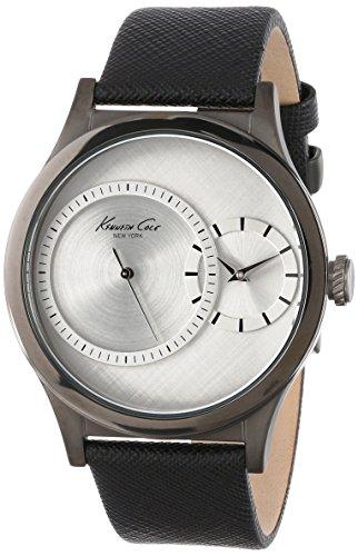 kenneth-cole-reloj-de-cuarzo-para-hombre-con-esfera-analogica-y-negro-correa-de-piel-plata-kc1892-re