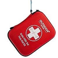 NEU Notfall Erste Hilfe Set mit Inhalt aus Deutschland nach DIN 13167 + Notfallbeatmungshilfe + Zeckenzange (01.Rot)