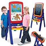 Best Kids Easels - Crayola Qwikflip 2 Sided Easel Blue Review