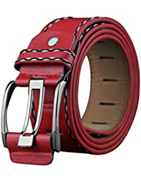 Ceinture hommes Vintage Ceinture hommes Coloré(TM) Ceinture de ceinture en  cuir pour hommes ceinture en cuir Ceinture de ceinture de loisirs… 9f529f68668