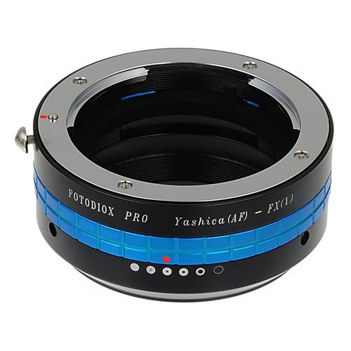 Fotodiox Pro Lens Mount Adapter, Yashica AF Lens to Fujifilm X-Series Mirrorless Cameras such as X-Pro1, X-E1, X-M1 and X-A1