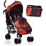 Koochi Speedstar Stroller - Orange Hyperwave